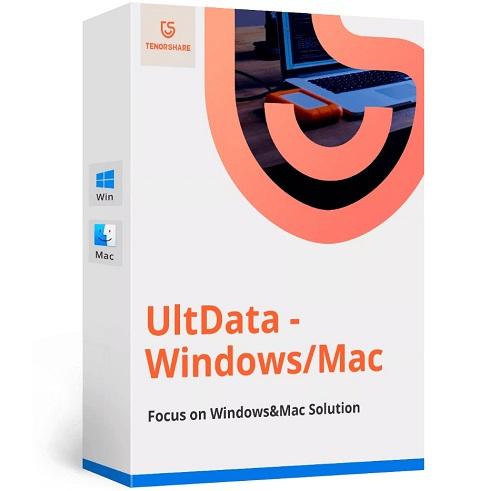 Tenorshare UltData 9.4.3 Crack + Registration Code 2021 Free Download